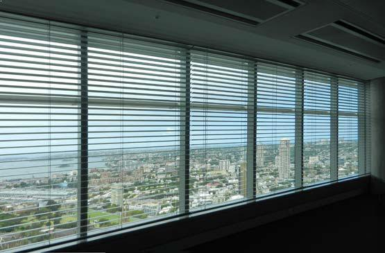 External Venetian Blinds Internal Install