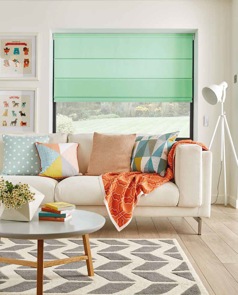 Culture Shades Roman Blinds